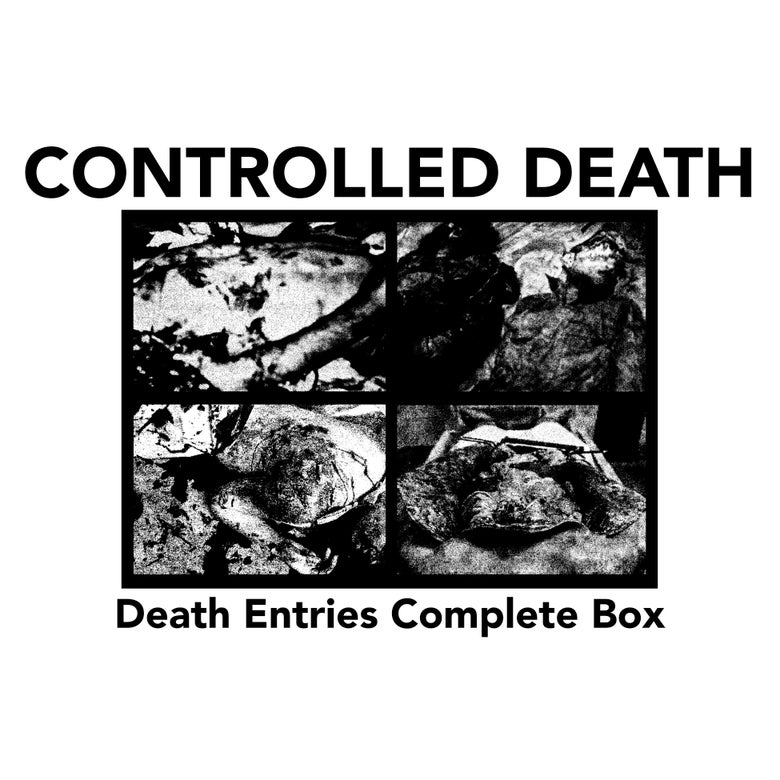 Image of CONTROLLED DEATH • Death Entries complete box