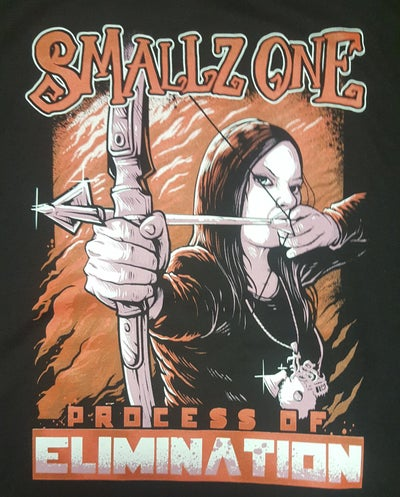 Image of SMALLZ ONE : THE PROCESS OF ELIMINATION   REG. SHIRT