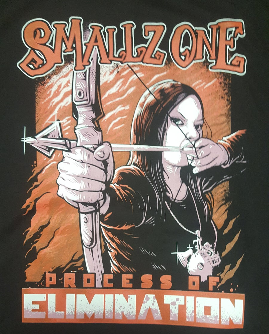 Image of SMALLZ ONE : THE PROCESS OF ELIMINATION   REG. SHIRT