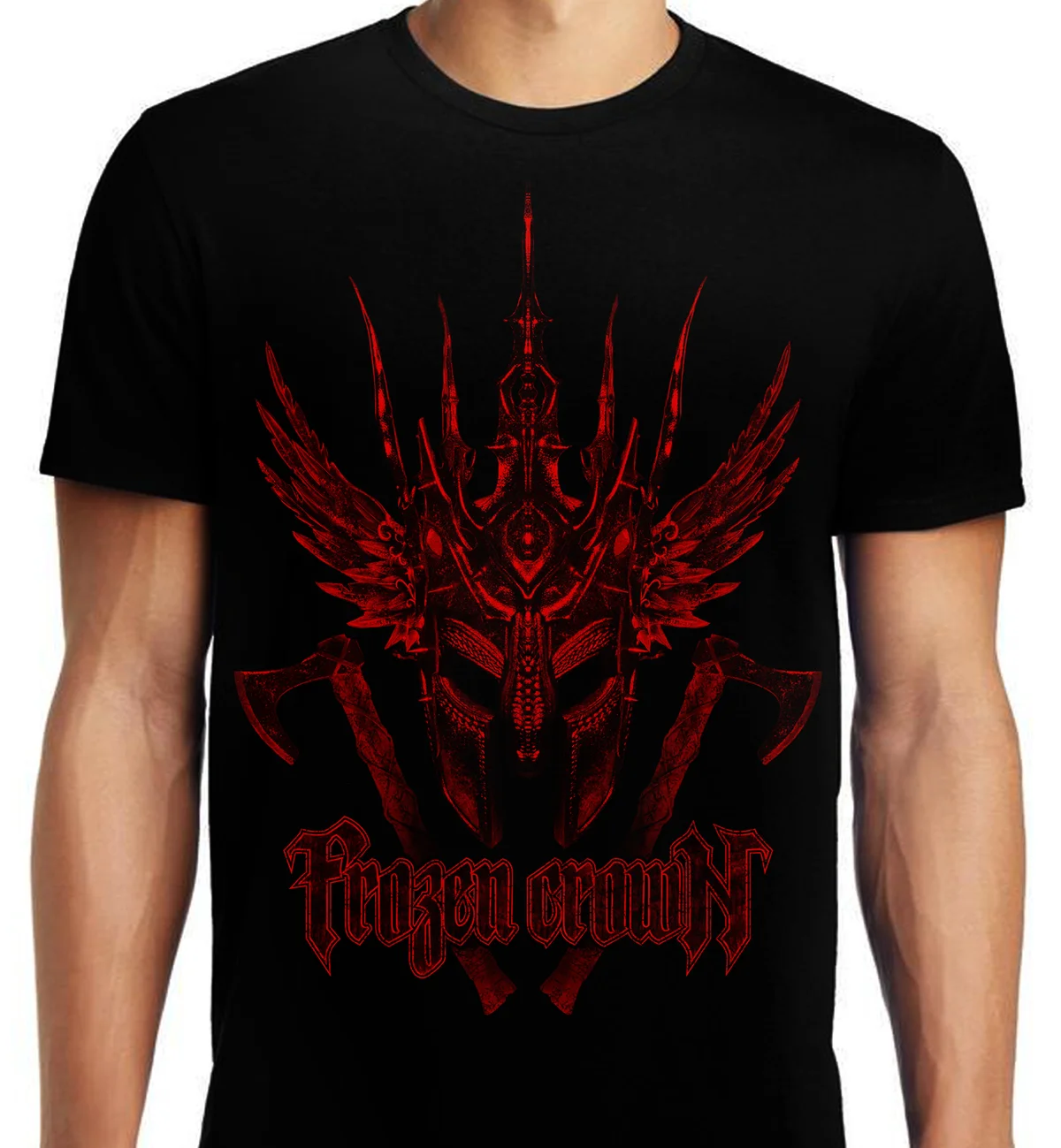 Image of ALL SIZES - Red Helm T-Shirt
