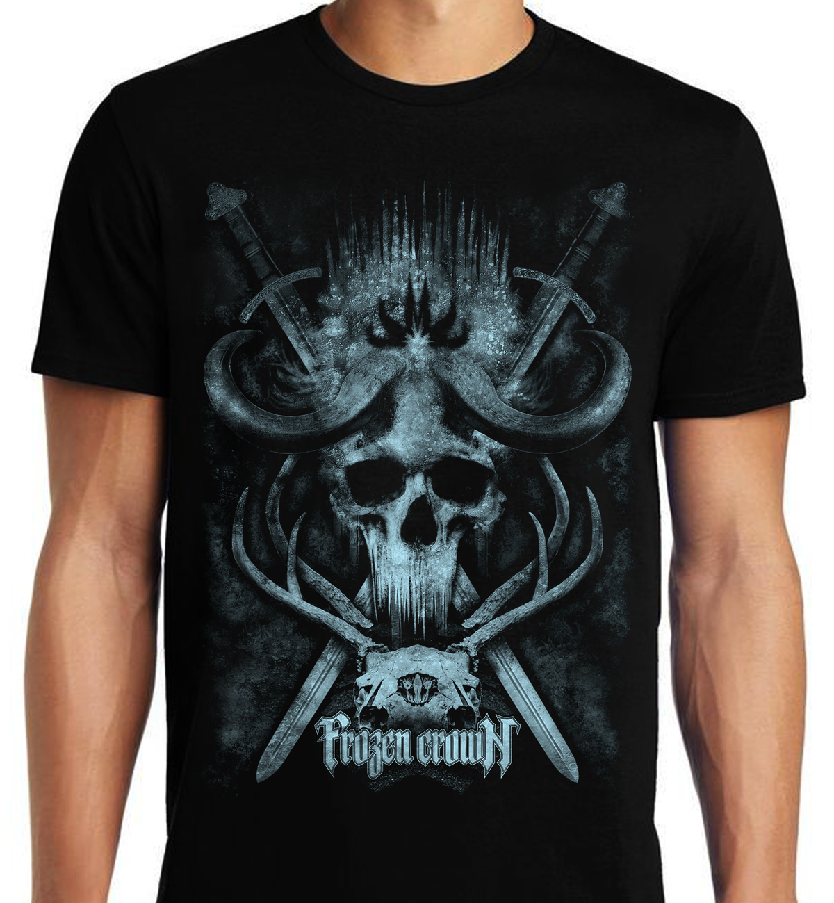 Image of ALL SIZES - Crowned T-Shirt