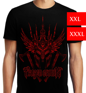 Image of Red Helm T-SHIRT (larger sizes, available NOW)