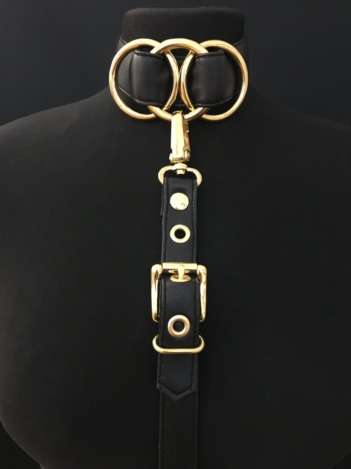 Infinity harness gold
