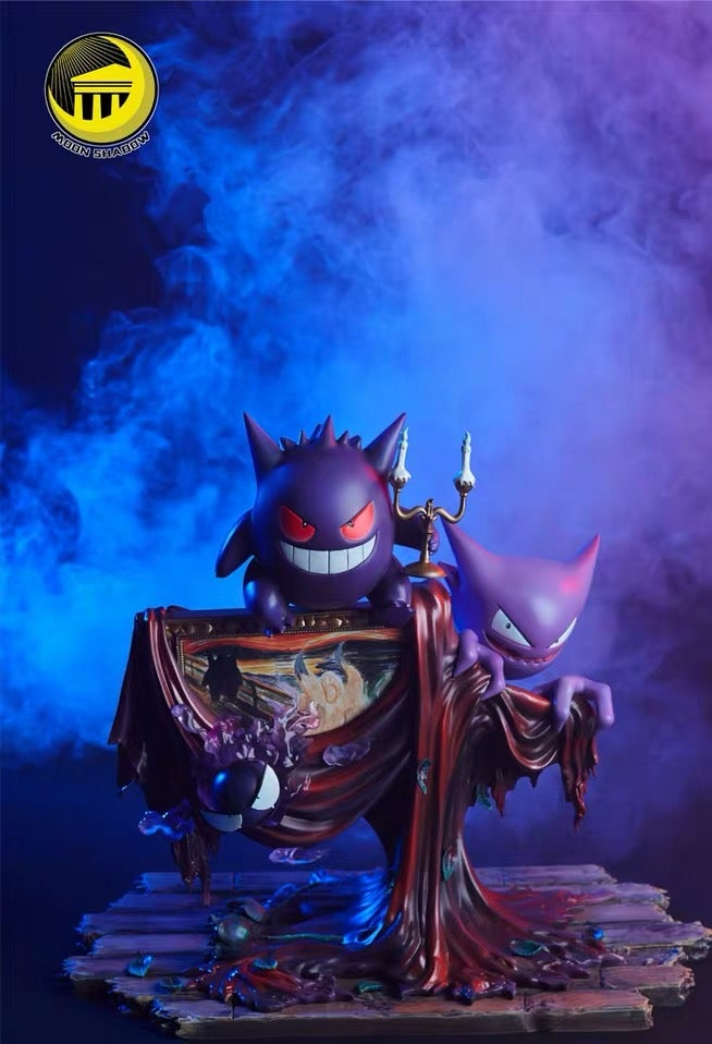 Image of [In-Stock]Pokemon Moon Shadow Studio Gengar Resin Statue