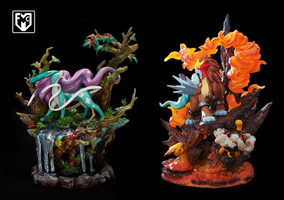 Image of [In-Stock][Last Stock]Pokemon Mfc Suicune Resin Statue