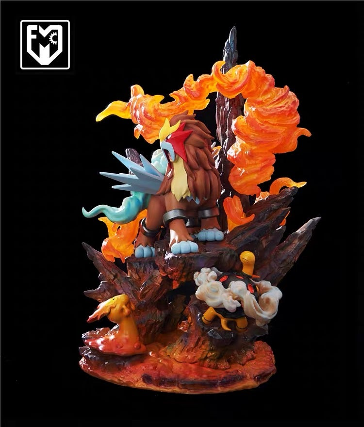 Image of [In-Stock][Last Stock]Pokemon Mfc Entei Resin Statue