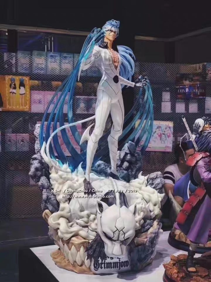 Image of [Last Stock] Bleach MH&SM Studio Grimmjow Jeagerjaques Resin Statue