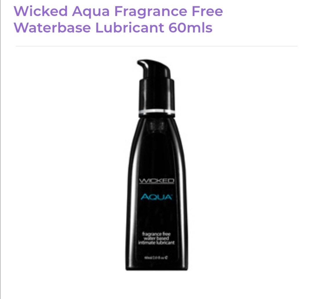 Image of Wicked Aqua Lubricant
