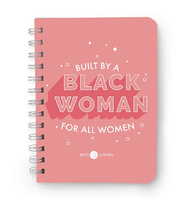 "Image of ""Built By A Black Woman"" Notebook"