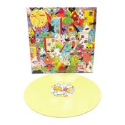 Image of Kissed by an Animal s/t LP (Gatefold Sleeve, Yellow Vinyl)