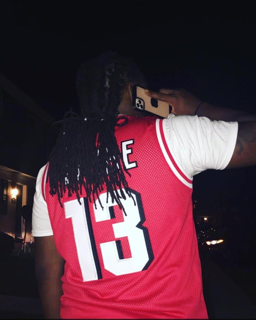 Image of Red Tribe Basketball Jersey