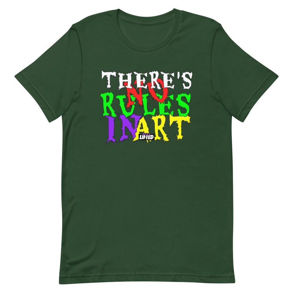 Image of There's No Rules In Art T-Shirt