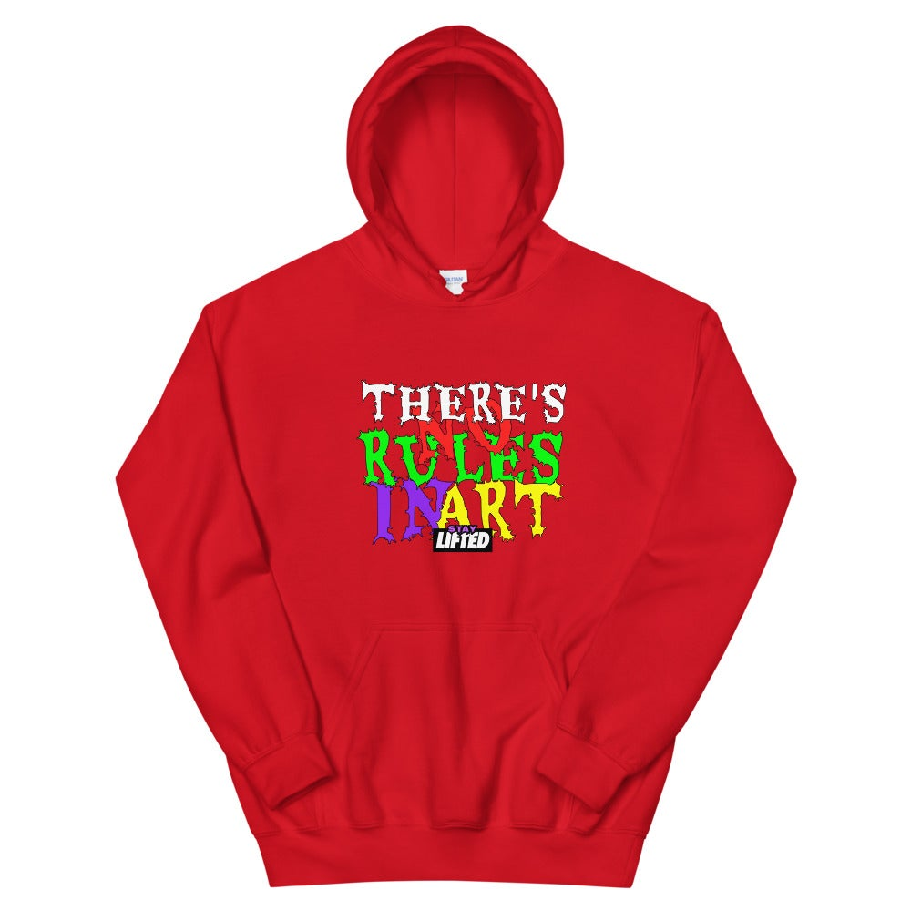 There's No Rules In Art Hoodie