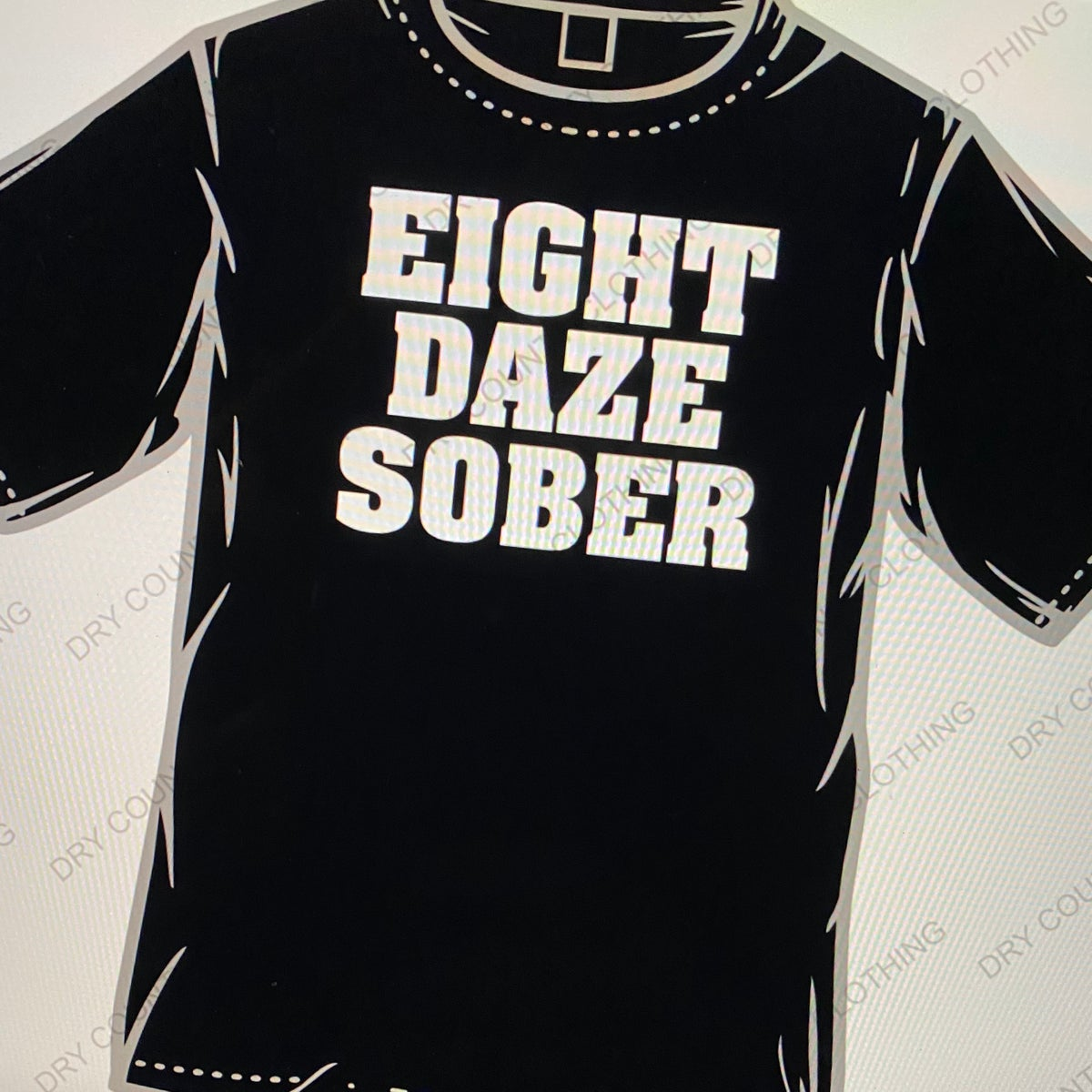 Image of 8 DAZE SOBER BAND SHIRT