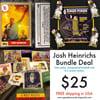 Josh Heinrichs Bundle Deal (Toker Poker, Card, Stickers)