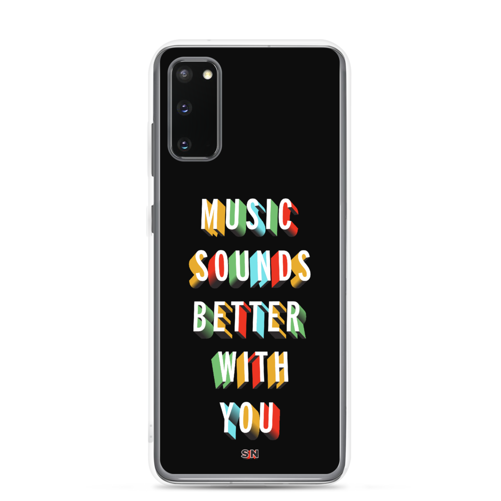 Image of Music Sounds Better | Samsung Case