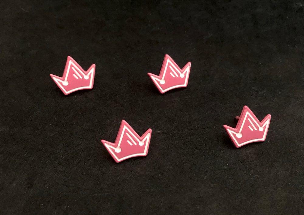 Mini Crown Accent Pins