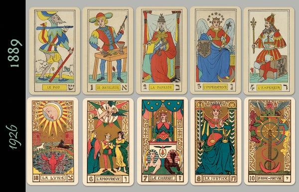 Image of Oswald Wirth Tarot Majors, 1889 & 1926