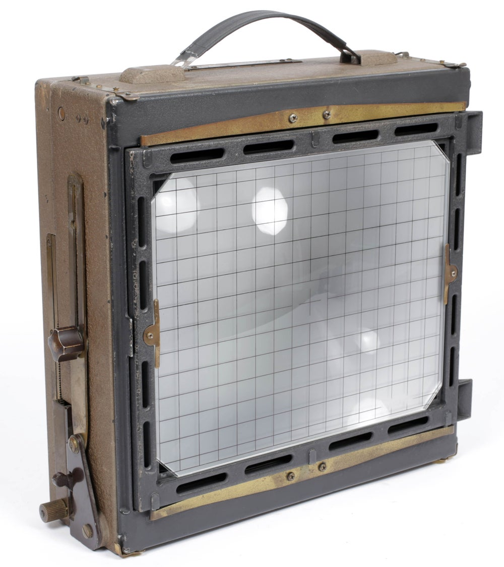 Image of CatLABS Ultrabright Ground Glass Fresnel with grid overlay for 8X10 cameras
