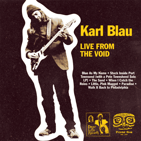 """Live From The Void"" Cassette by Karl Blau"