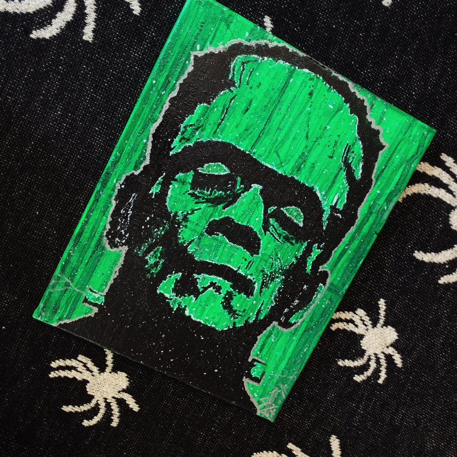 Image of Frankenstein Painting