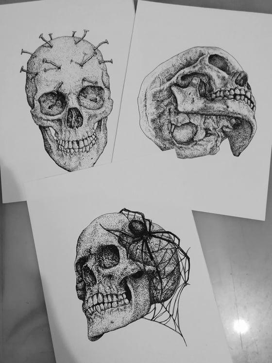 Image of 3 Originals drawing