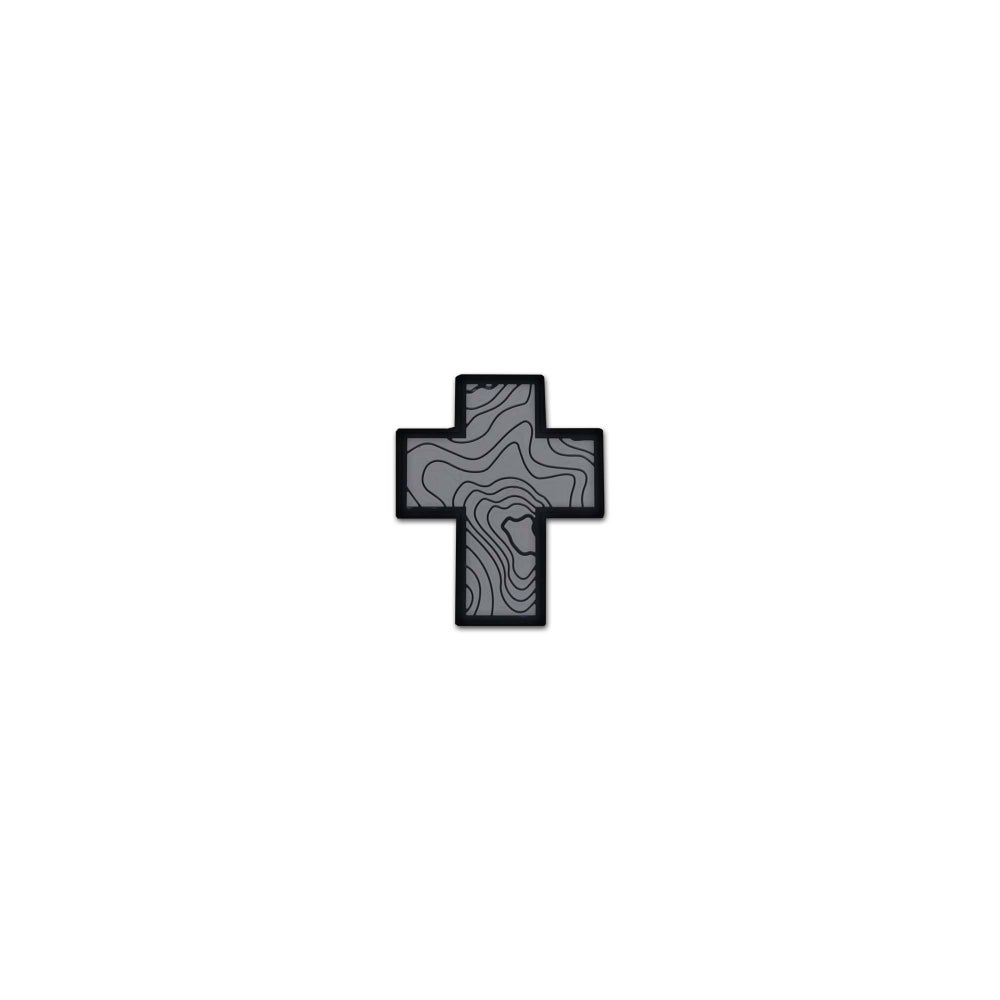 Image of Cross Series: Grey Tamography™ Edition Patch