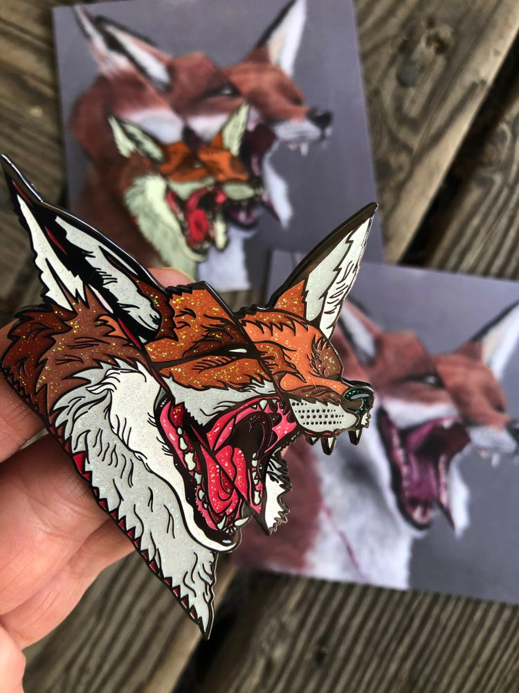 """Image of """"Foix"""" couture pin by Dusty Ray"""