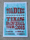 Toadies Dancehall Poster