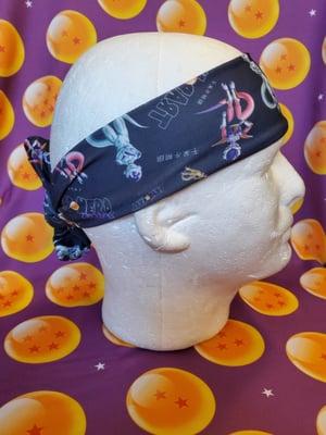 Image of TrapNerd x Frieza (durag, headband & headscarf)