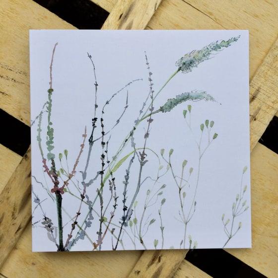 Image of Ragwort Greetings Card