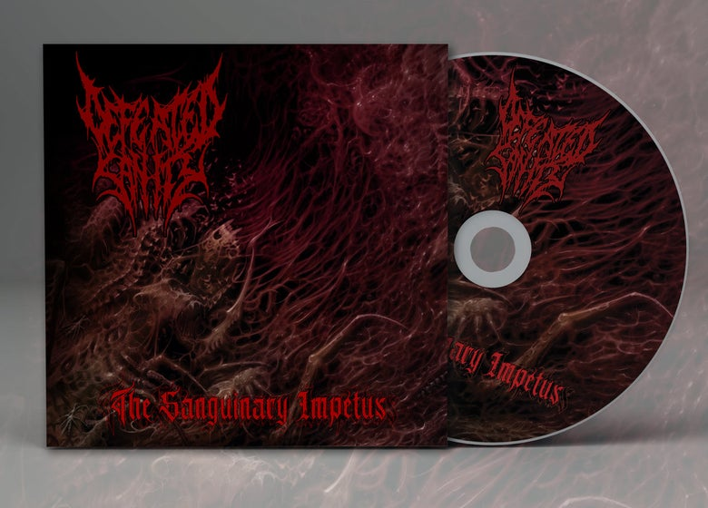 """Image of """"THE SANGUINARY IMPETUS"""" CD"""