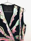 Vintage Terry & Toni Painted Suede Vest Top