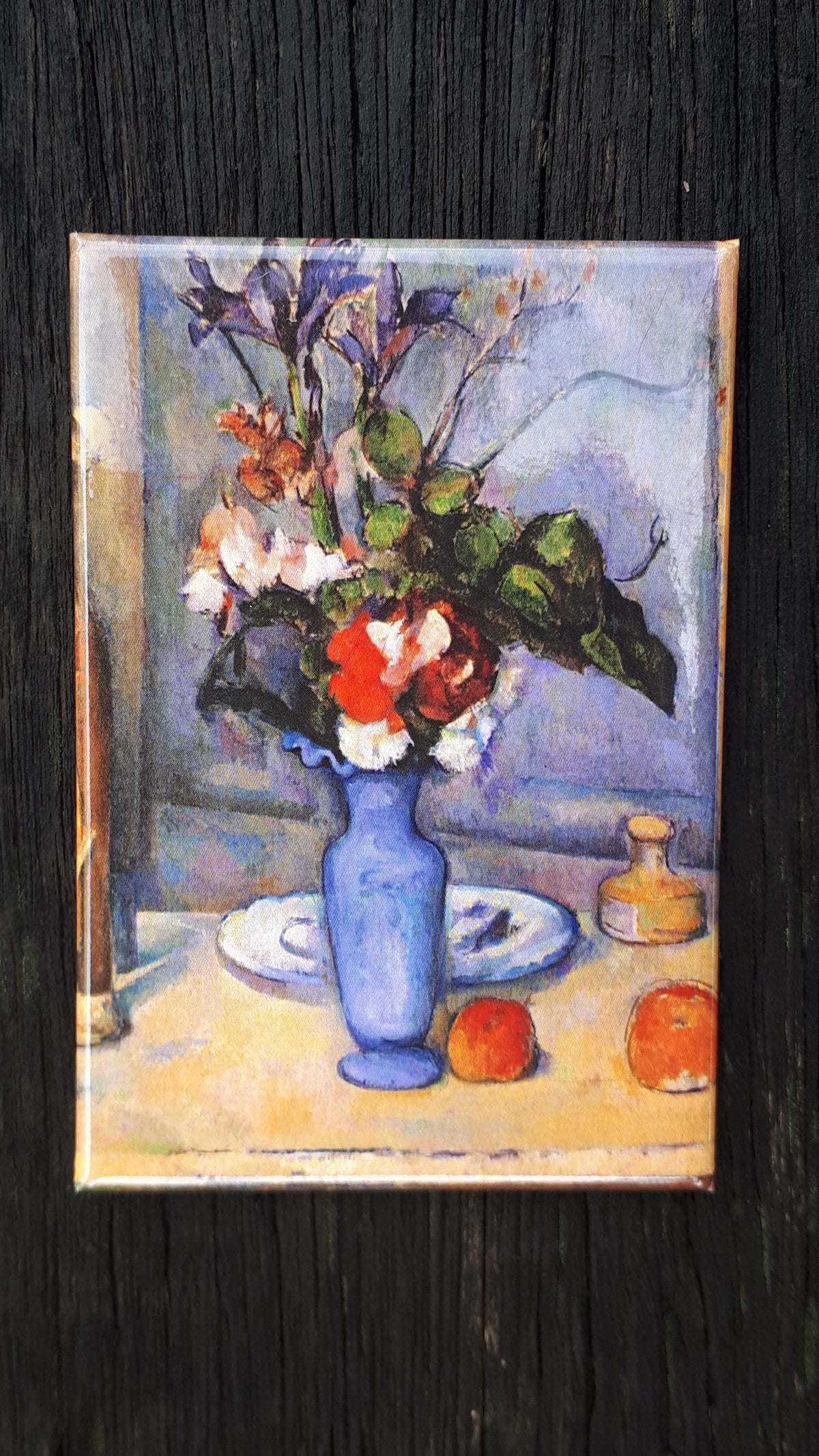 Image of Paul Cézanne Fridge Magnet: Blue Vase