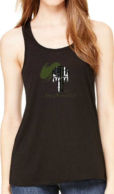 Image of GREEN IS THE NEW BLACK LADIES TANK