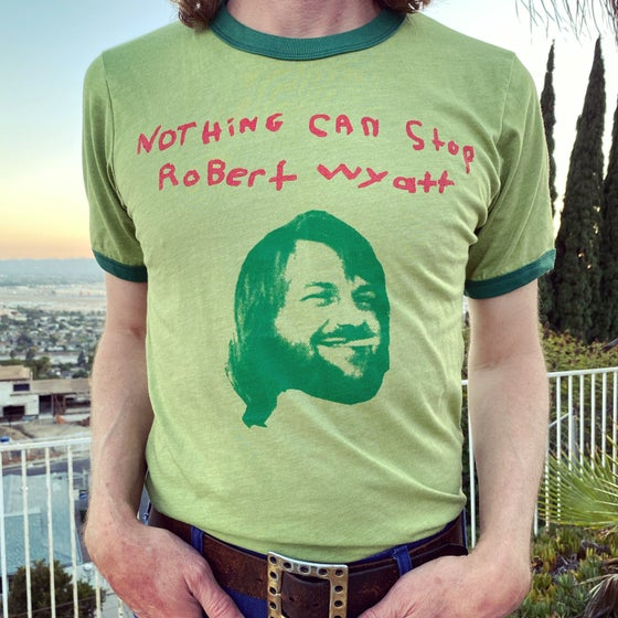 Image of Robert Wyatt ringer t-shirt