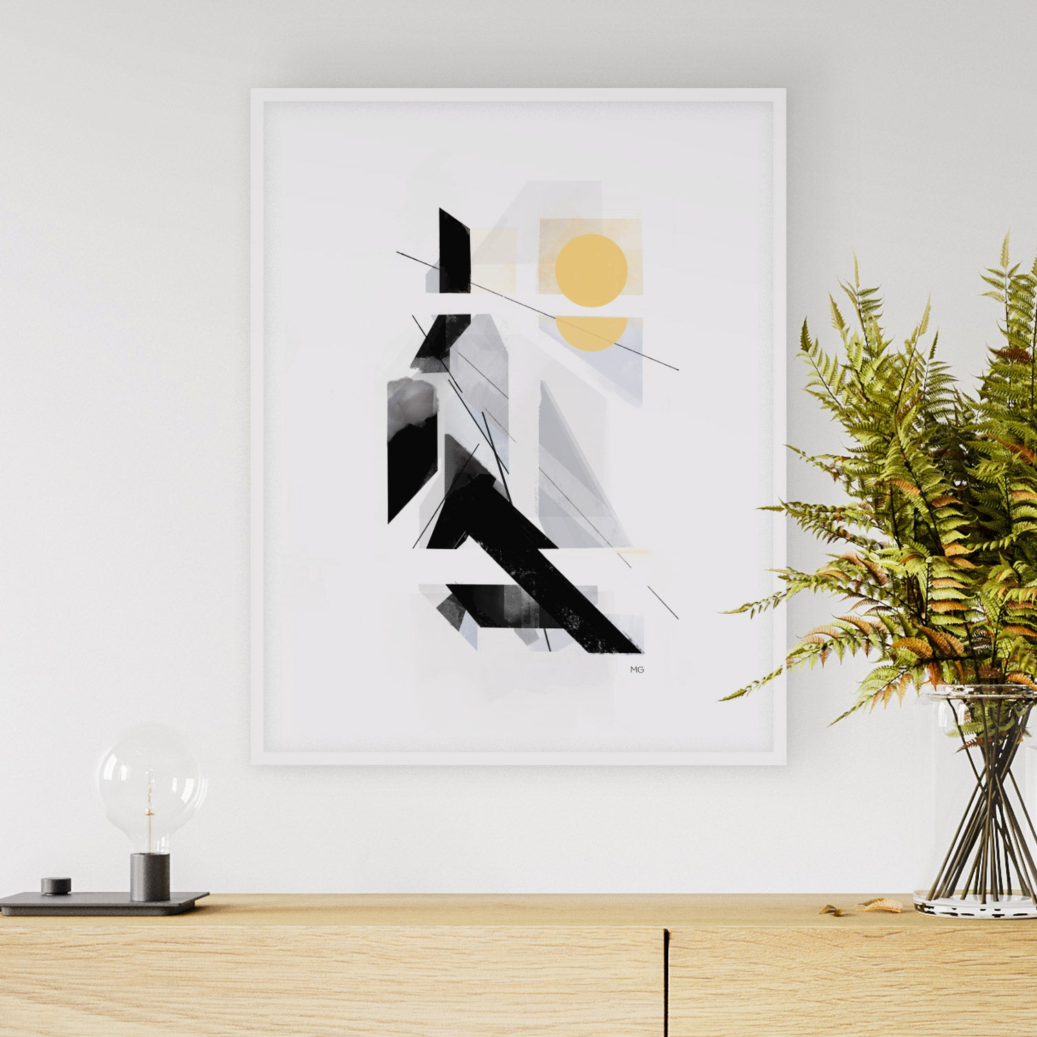 Image of Mighty Heights Art Print