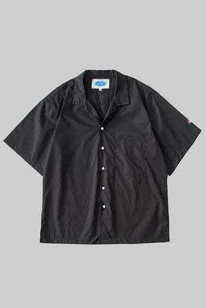 """Image of """"This Space Is Hot"""" Cuban Embroidery Shirt"""