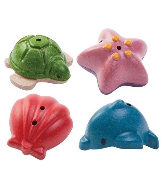 Image of Plan Toys Sea Life bath set