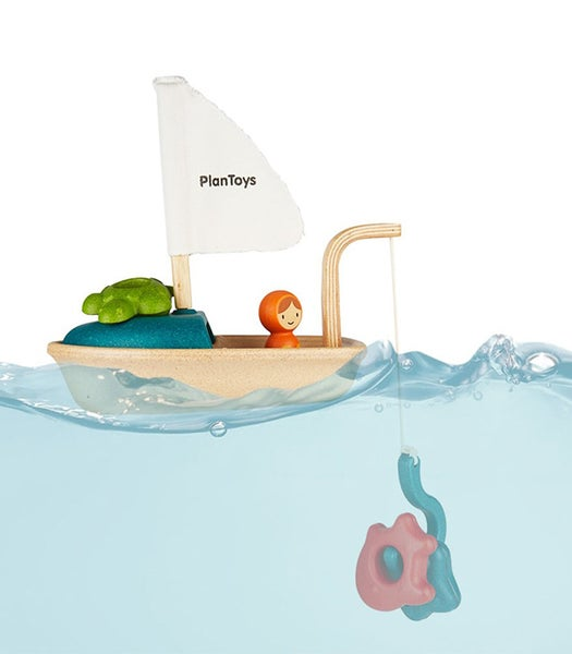 Image of Plan Toys Activity Boat