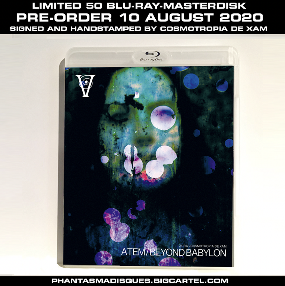 Image of The Short Films of Cosmotropia de Xam Vol. 1 - LIMITED 50 SIGNED/STAMPED BLU-RAY-R (DESIGN A)