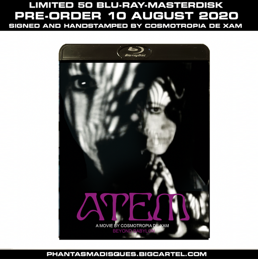 Image of The Short Films of Cosmotropia de Xam Vol. 1 - LIMITED 50 SIGNED/STAMPED BLU-RAY-R (DESIGN B)