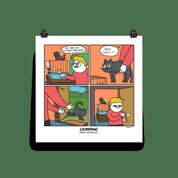 Image of Bad Cat Print