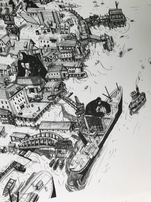 Image of Harbour Town Print