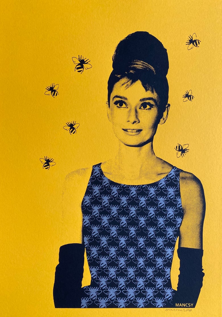 Image of Audrey Beehive Yellow