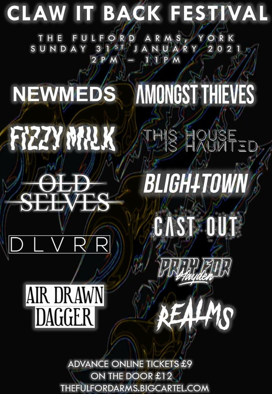 Image of Claw It Back Festival - Sunday 31st January