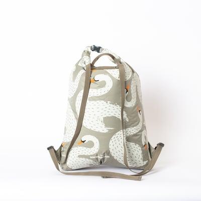 Image of Büro Destruct - Swans Splash Backpack