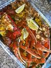 Seafood pan