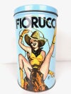 Vintage Fiorucci Graphic Print Metal Display Can