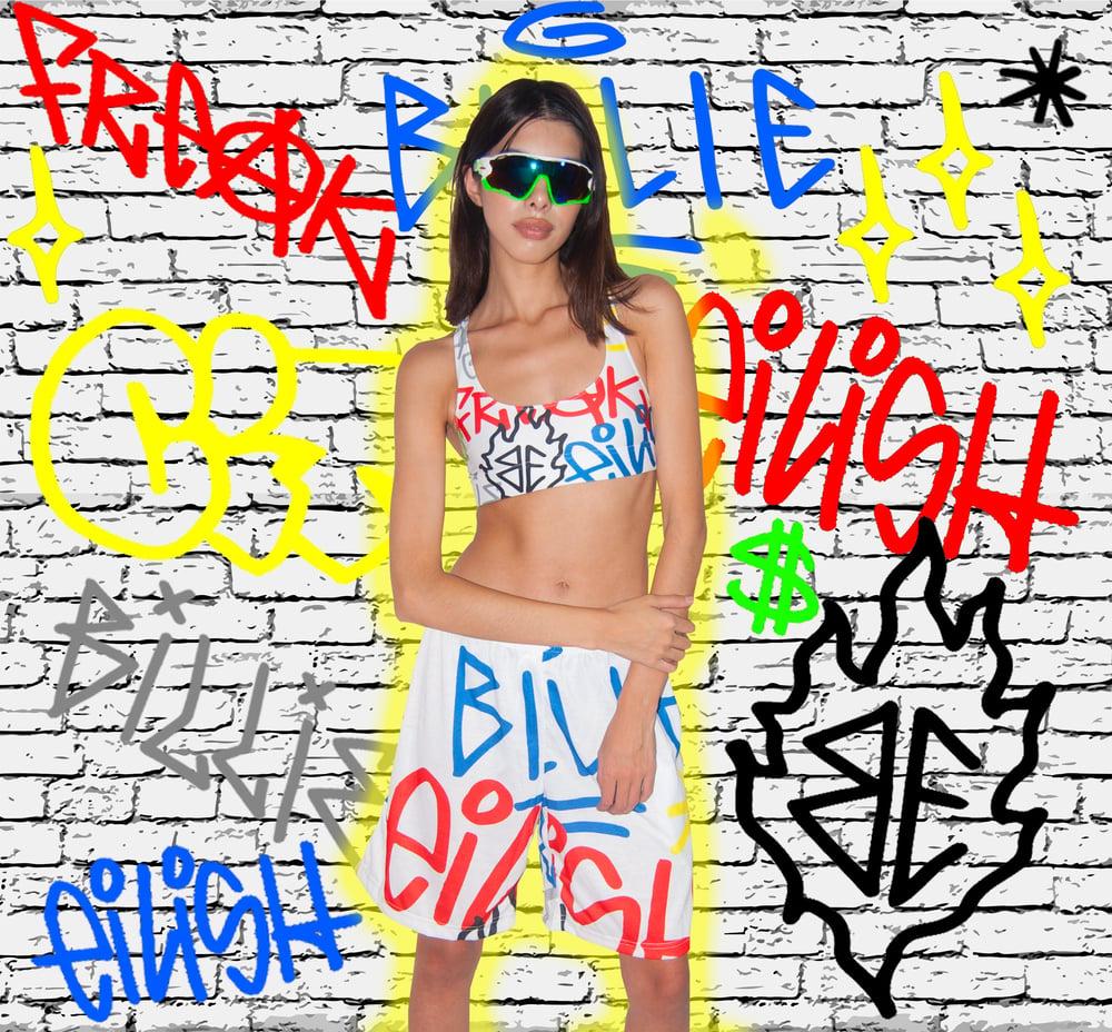 Image of Freak City X Billie Eilish hot sport set